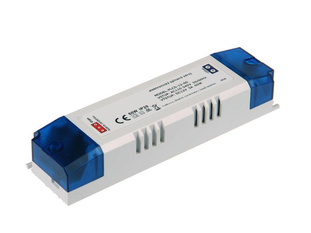 LED zdroj PLCS 12V 60W vnitřní - LED zdroj PLCS 12V 60W vnitřní