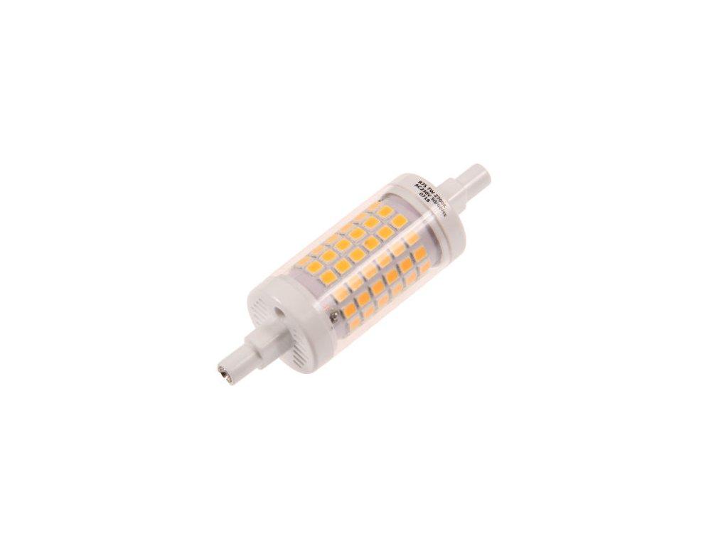 LED žárovka R7S EP78 7W - Teplá bílá
