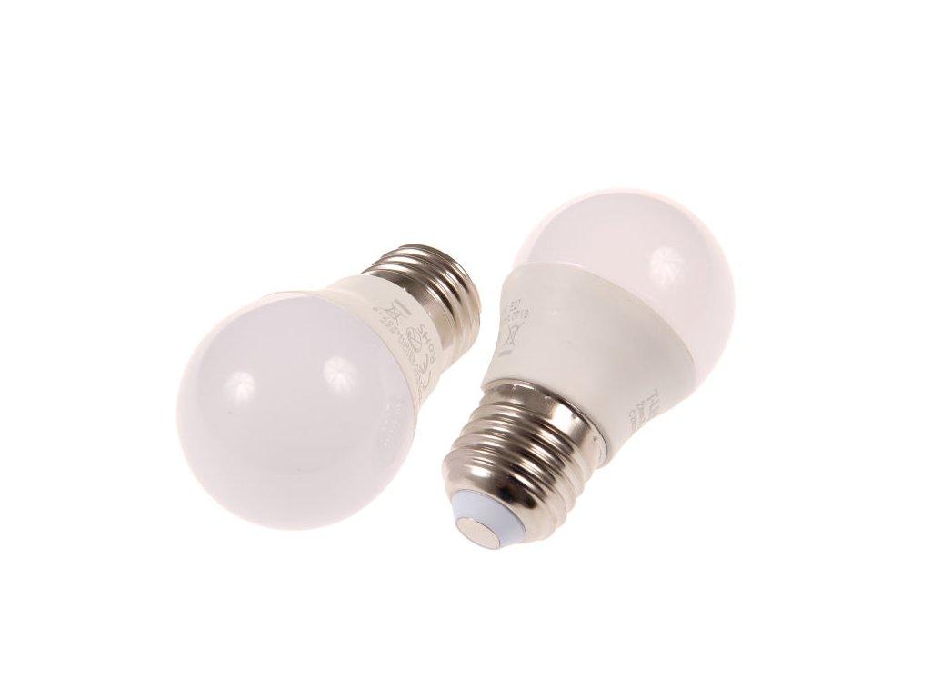 LED žárovka E27 MKG45 6W - Studená bílá