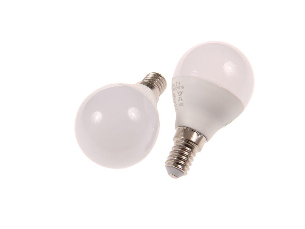 LED žárovka E14 MKG45 6W - Teplá bílá