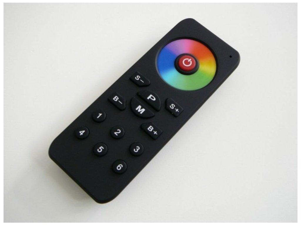 Dotykový LED RGB6CH ovladač programovatelný - RGB6CH ovladač 6 kanálů