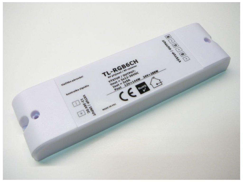 LED přijímač RGB6CH - RGB6CH přijímač 6 kanálů