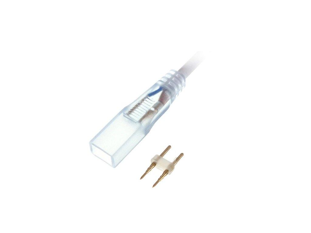 end cap for 240v 5050 led strips 14mm width 5000043 10