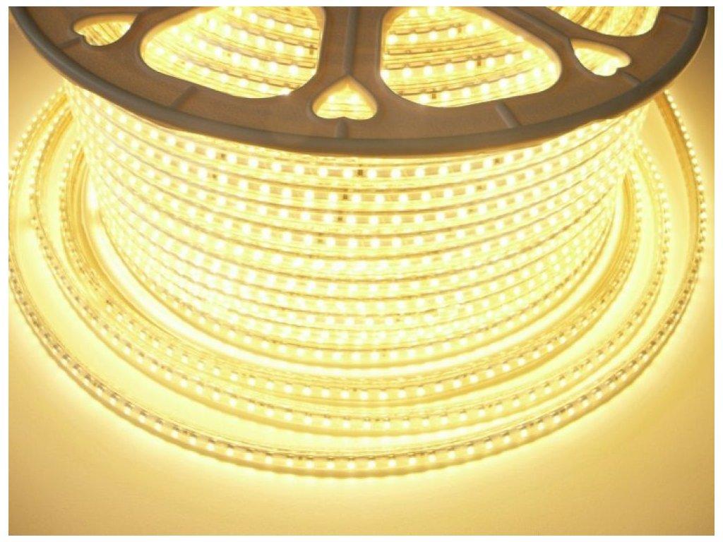 LED pásek 230V3-120LED-3528 7W 230V - Teplá bílá