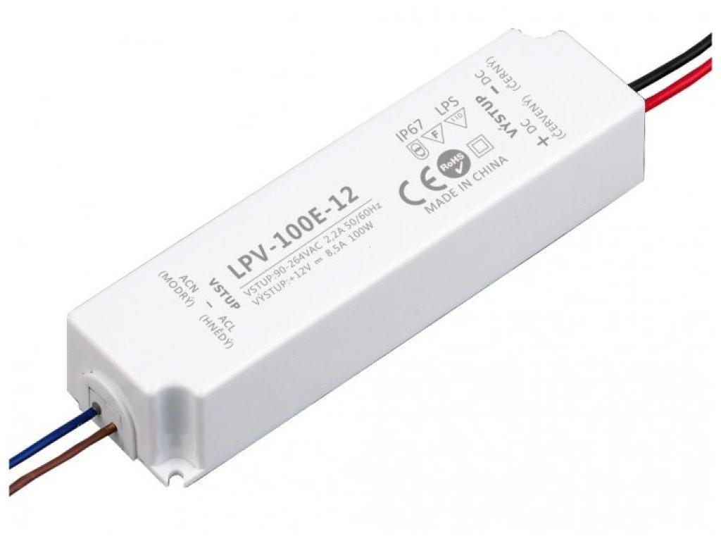 LED zdroj 12V 100W - LPV-100E-12 - LED zdroj 12V 100W - LPV-100E-12