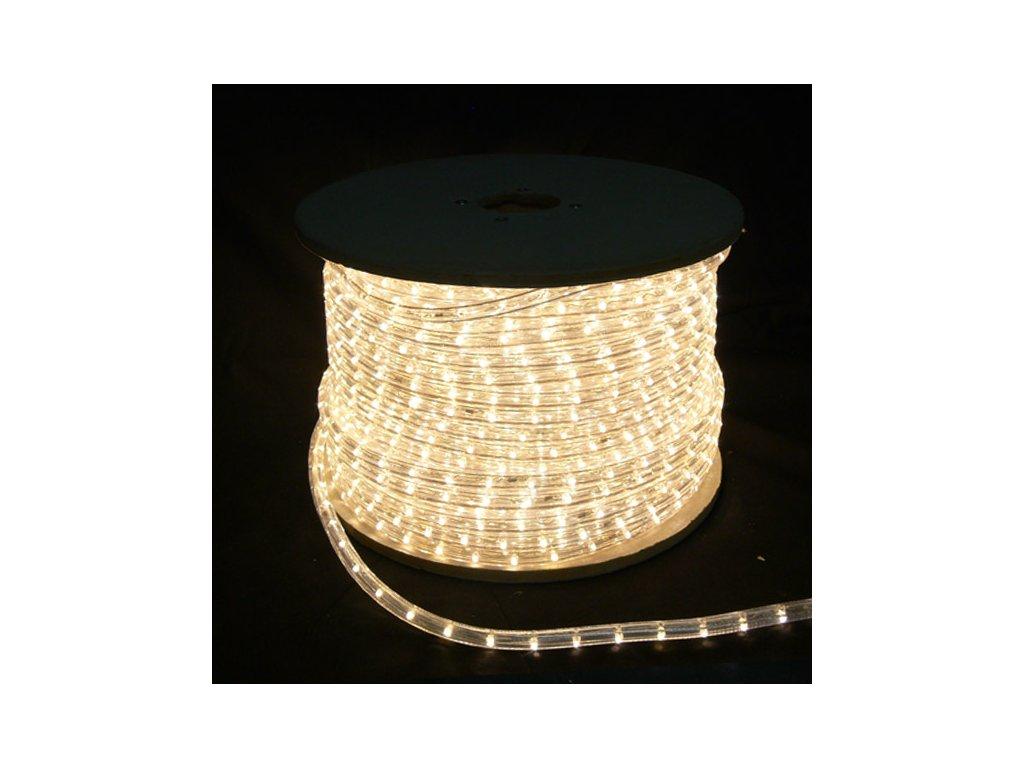 LED světelný kabel teple bílý ( cena za1m )