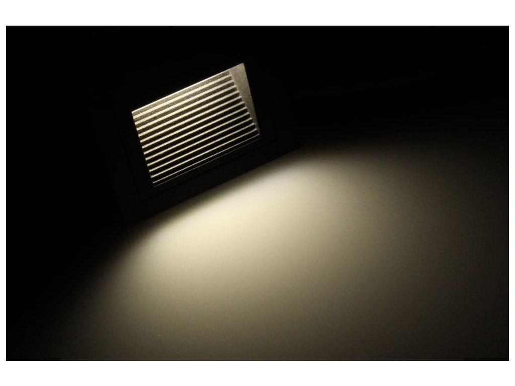 LED vestavné svítidlo LOPEN-B-IP65 černé - Denní bílá