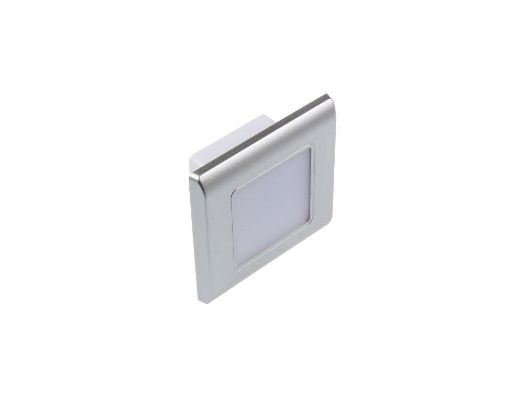 LED vestavné svítidlo RAN-S stříbrné - Denní bílá