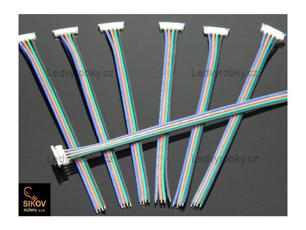 Mechanická přípojka pájecí pro RGB led pásek 5050