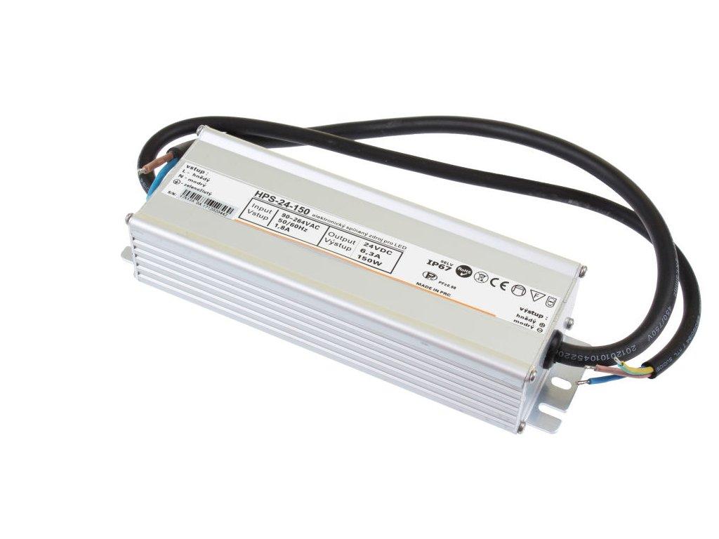 LED zdroj 24V 150W HPS-24-150 Záruka 5 let - LED zdroj 24V 150W HPS-24-150 Záruka 5 let