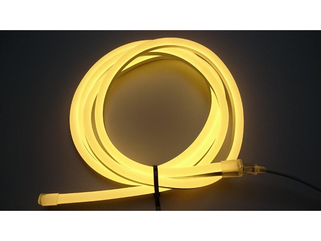 SIKOV 198cm - LED neon PROFI vystouplý 15x25mm, 24V