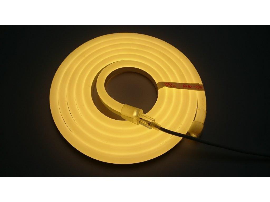 SIKOV 4m - LED neon PROFI vystouplý 15x25mm, 230V