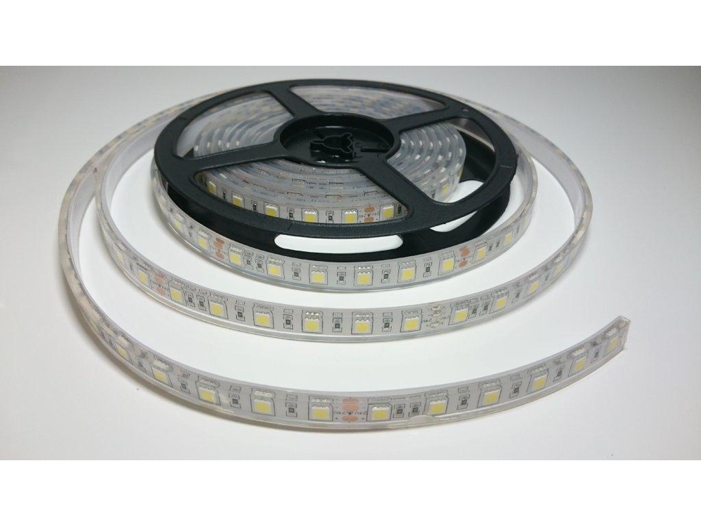 VÝPRODEJ LED pásek 5050 60led/m 4500K IP68 24V Záruka tři roky SIKOV