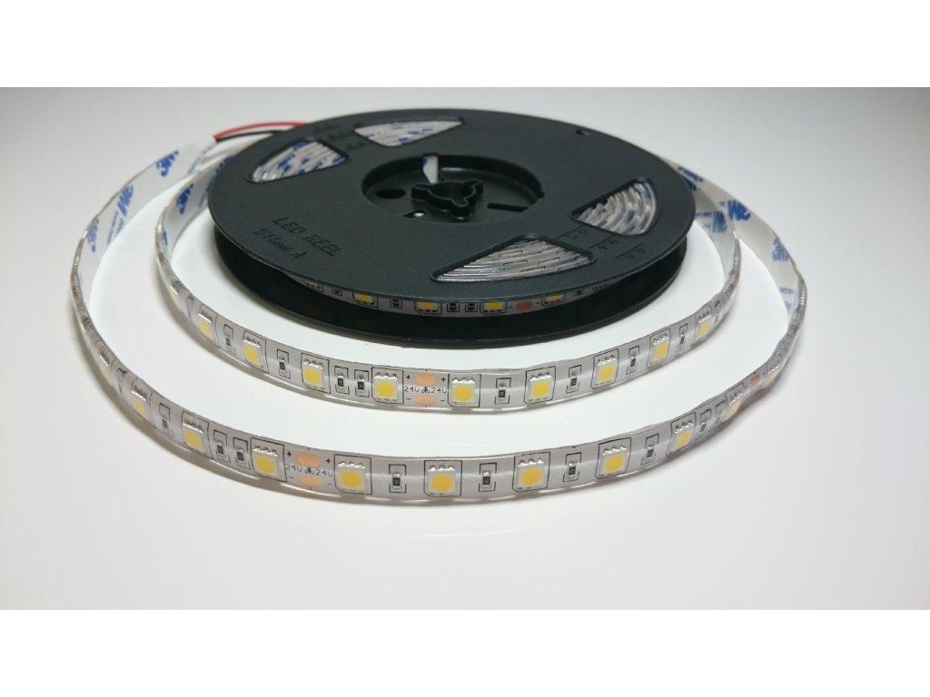 VÝPRODEJ LED pásek 5050 60led/m 4500K IP67 24V Záruka tři roky SIKOV
