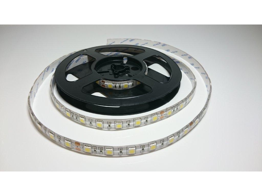 VÝPRODEJ LED pásek 5050 60led/m 3000K IP67 24V Záruka tři roky SIKOV