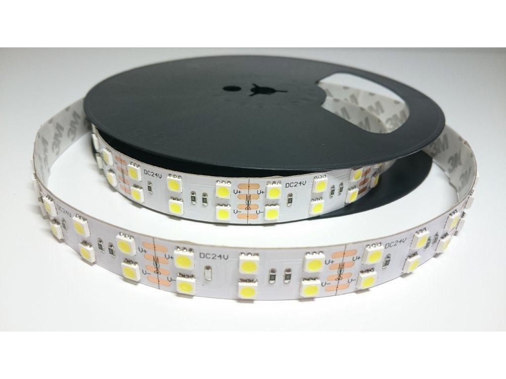 VÝPRODEJ LED pásek 5050 120led/m 4500K IP40 24V Záruka tři roky SIKOV