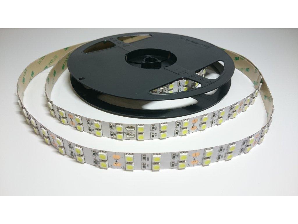 VÝPRODEJ LED pásek 5050 12V 120led/m 6000K IP40 12V Záruka tři roky SIKOV