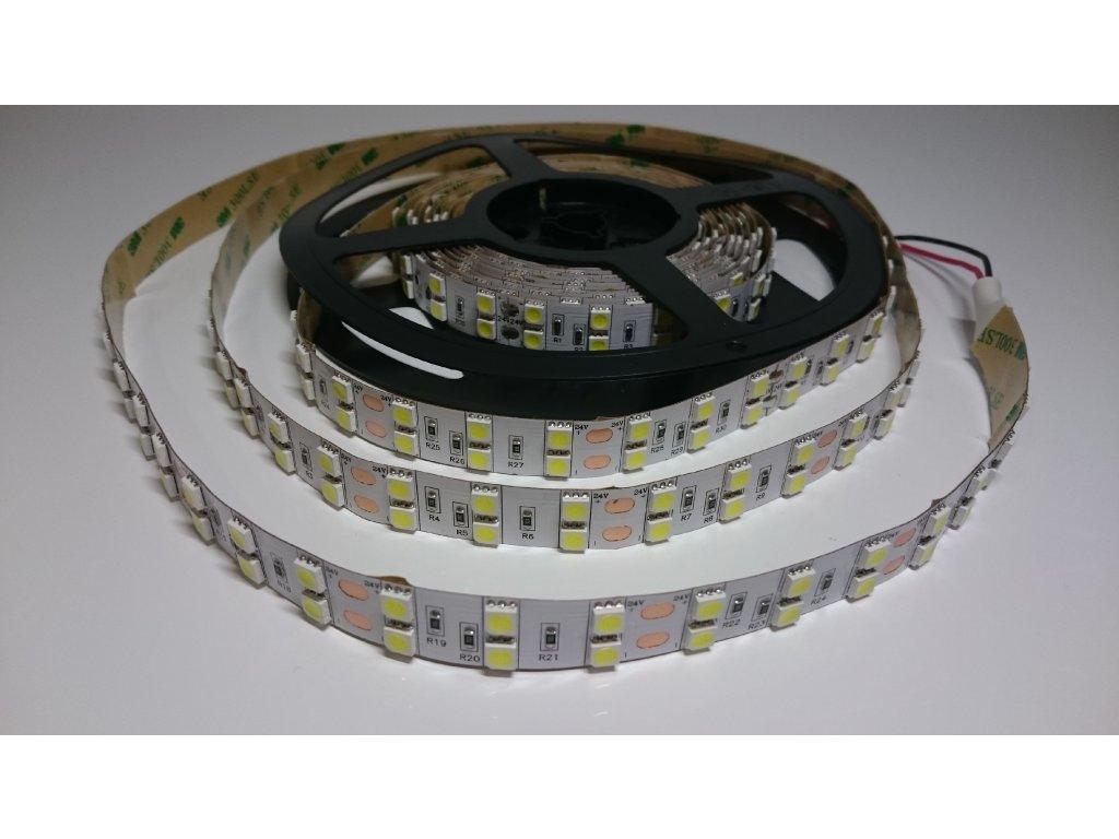 VÝPRODEJ LED pásek 5050 120led/m 6000K IP40 24V Záruka tři roky SIKOV