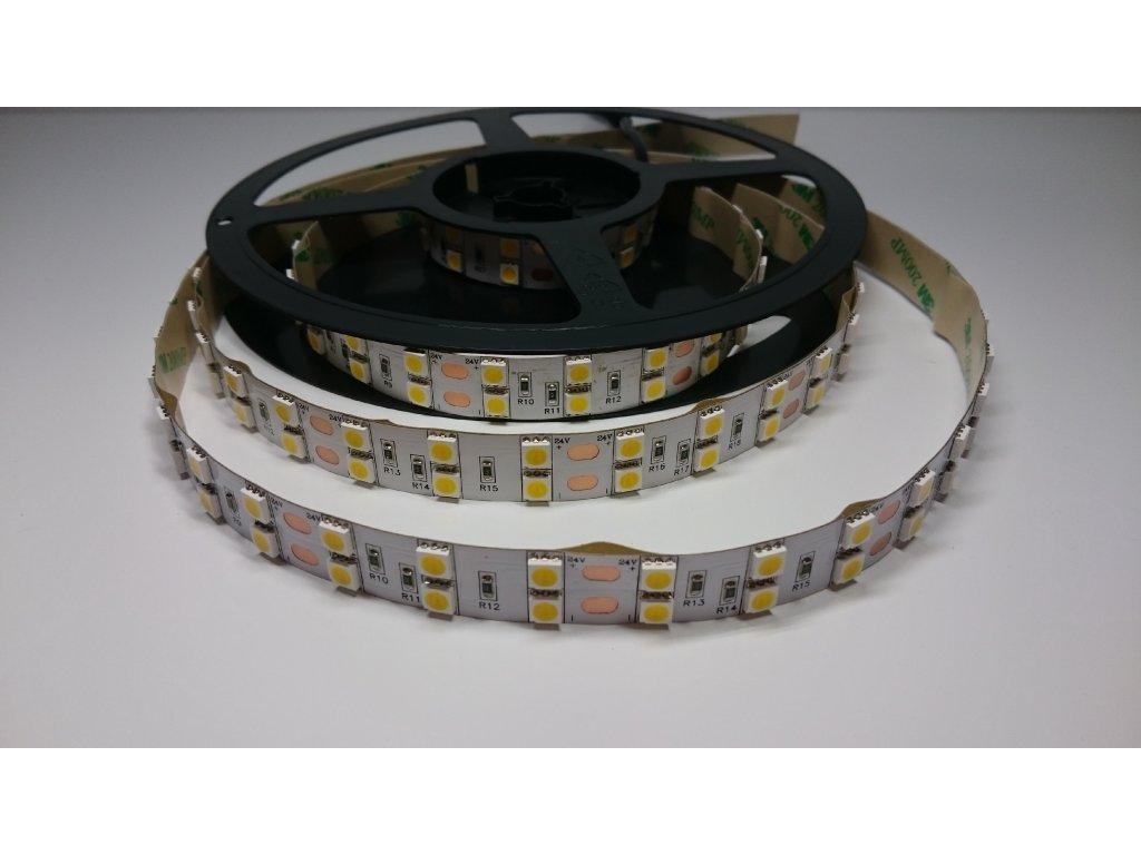 VÝPRODEJ LED pásek 5050 120led/m 3000K IP40 24V Záruka tři roky SIKOV