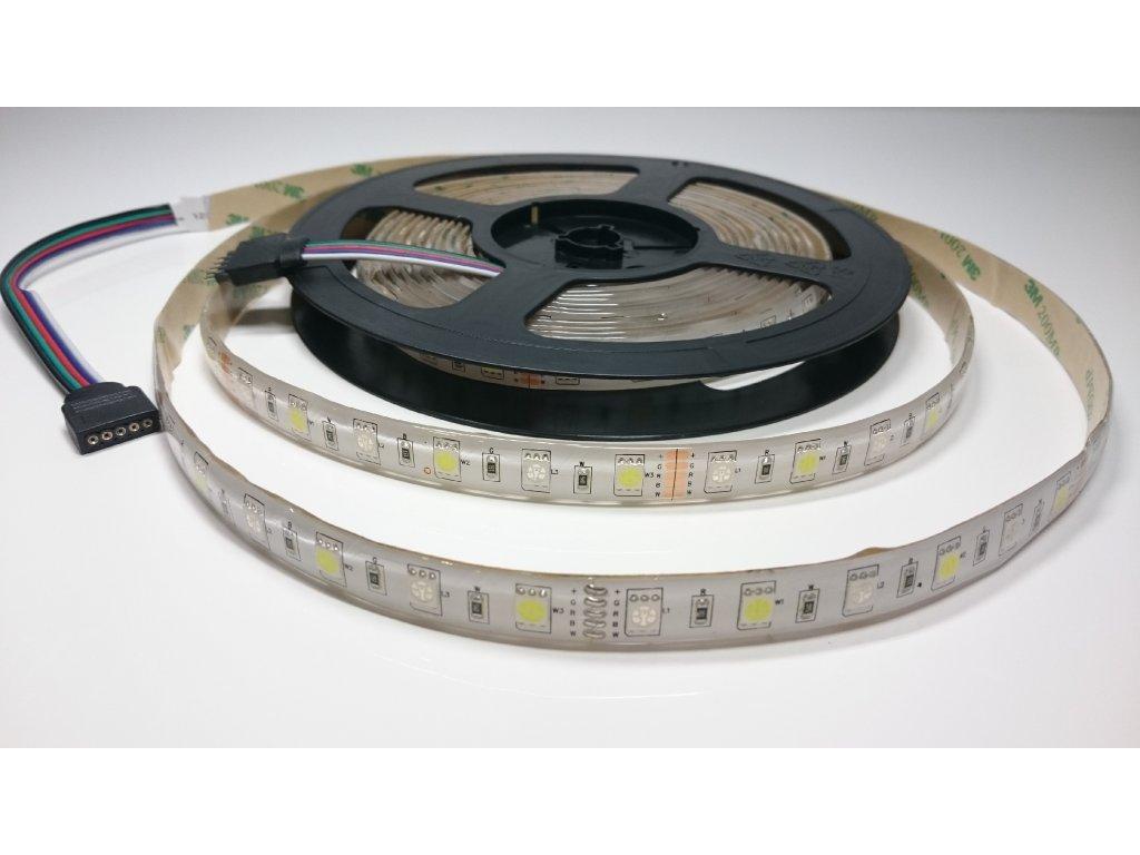 Výprodej LED pásek RGB + CW 60led/m IP67 Záruka tři roky SIKOV
