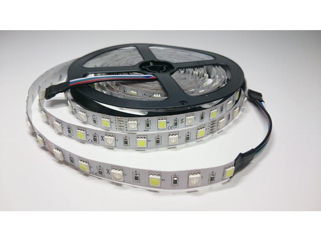 Výprodej LED pásek RGB + CW 60led/m IP40 Záruka tři roky SIKOV