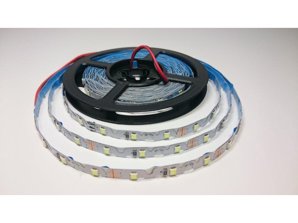 SIKOV LED pásek tvarovatelný 2835 12V 60led/m 6000K IP20 Záruka tři roky