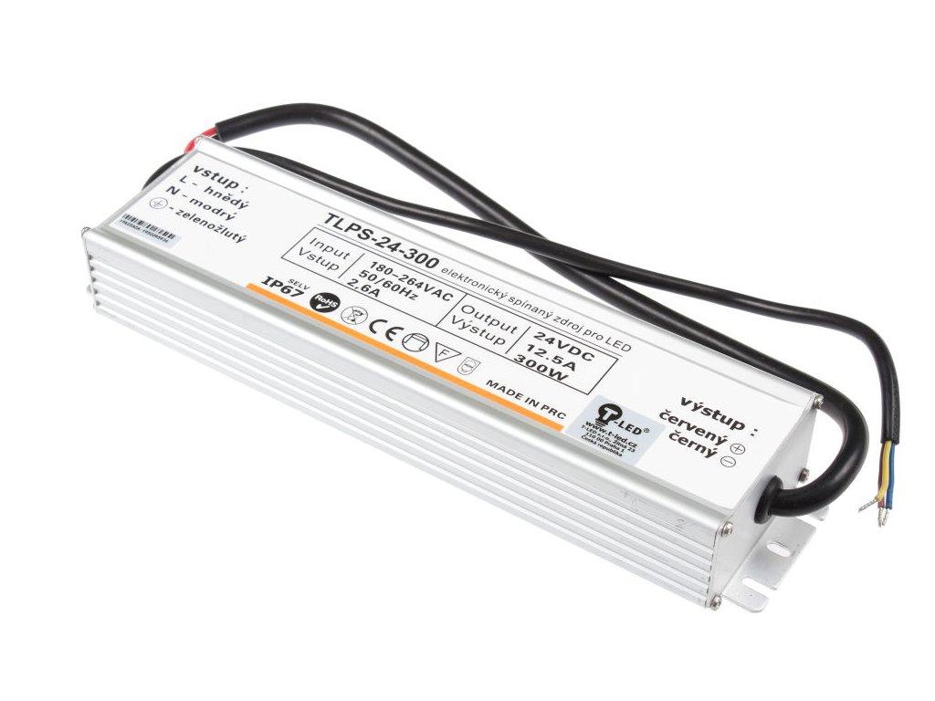LED zdroj 24V 300W IP67 - LED zdroj 24V 300W IP67