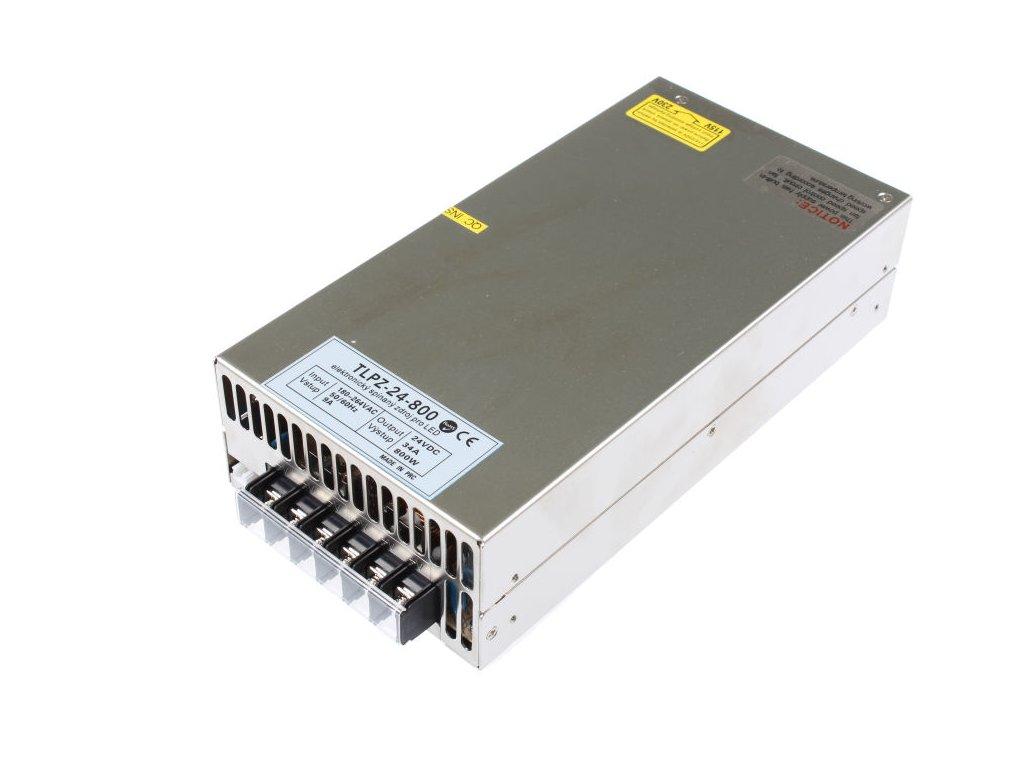 LED zdroj 24V 800W vnitřní - LED zdroj 24V 800W vnitřní