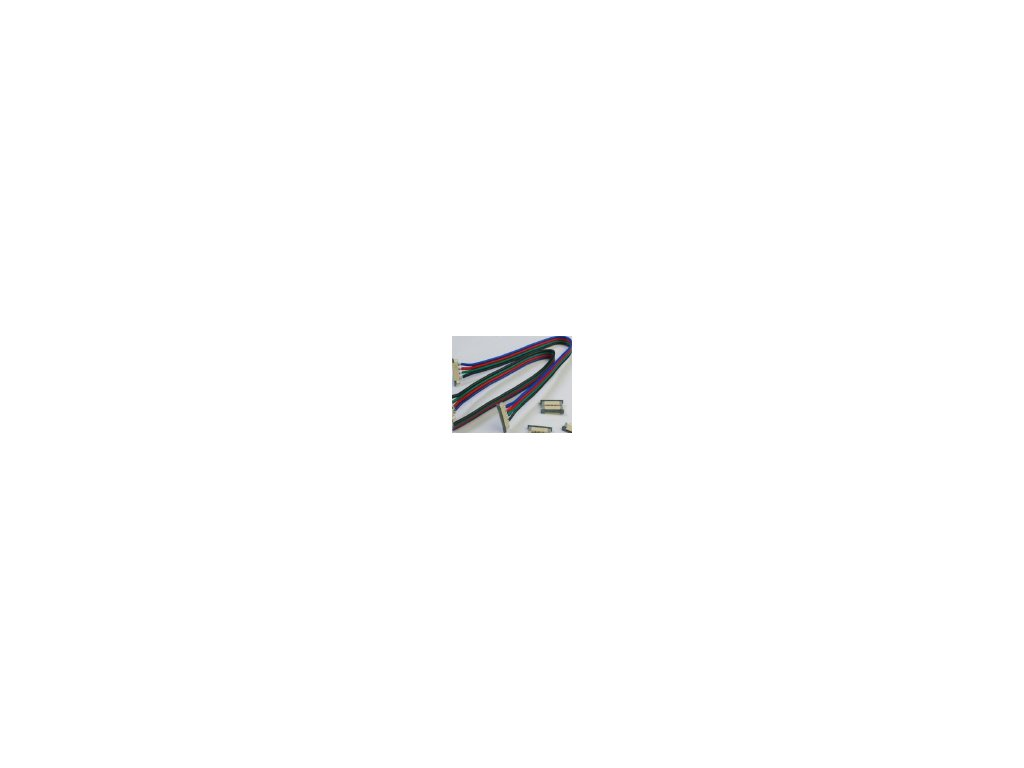 Propojovací vodič s mechanickými spojemi 5050 RGB
