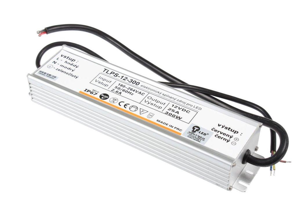 LED zdroj 12V 300W IP67 - LED zdroj 12V 300W IP67