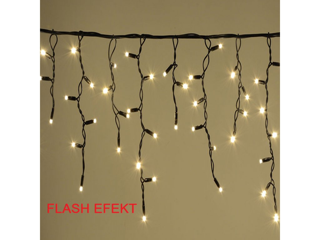 Christmas Outdoor LED Icicle Rope Light Chain