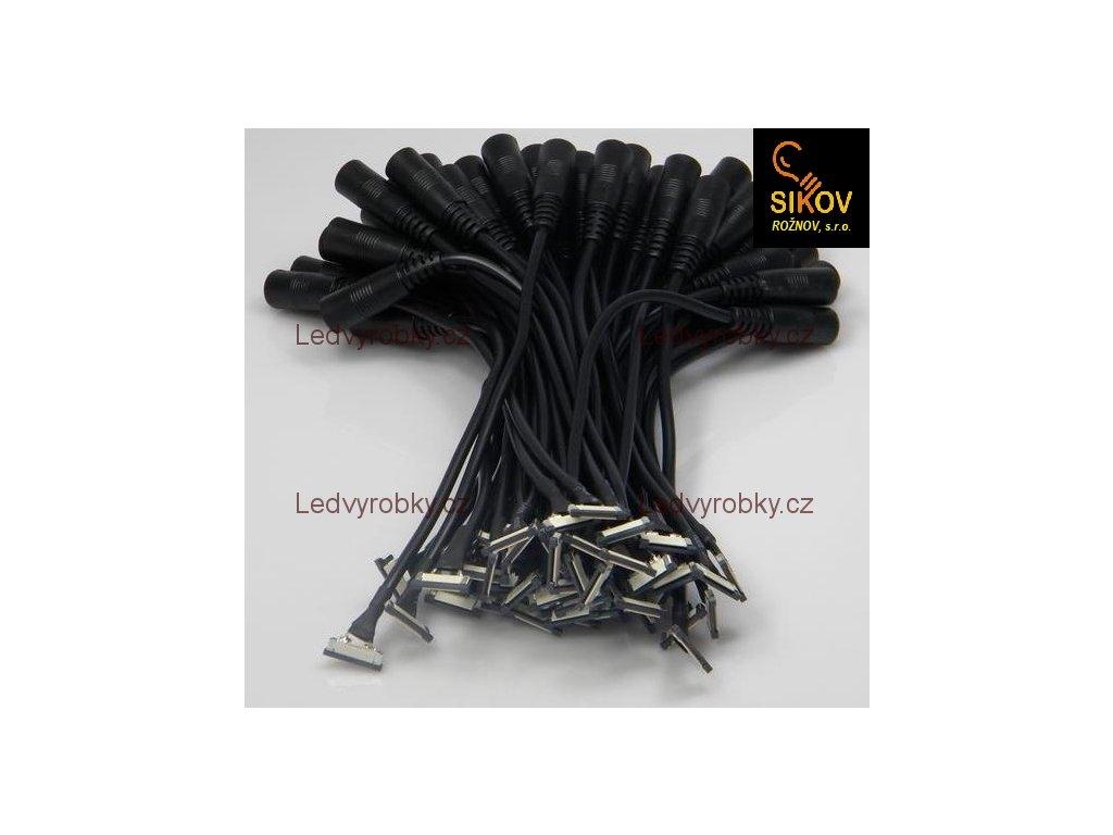 Konektor Jack zdířka na kabelu s mechanickou přípojkou 5050