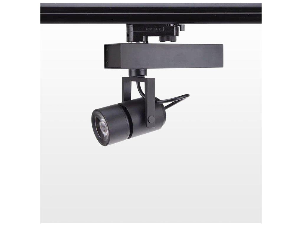 SIKOV 1F, 3F LED reflektor 20W 5000K úhel zoom 10-70°, CREE, 5LET záruky
