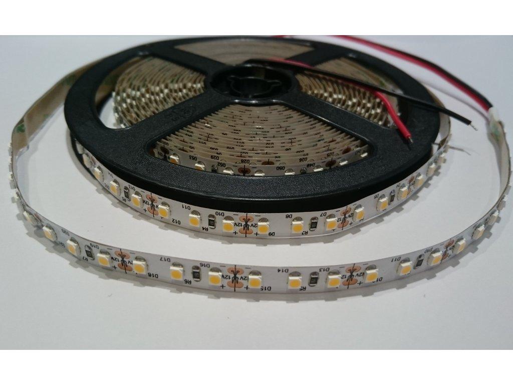 SIKOV LED pásek 3528 12V 120led/m 3000K IP20 Záruka tři roky