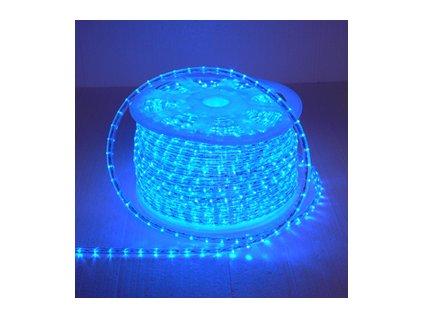 LED světelný kabel modrý ( cena za1m )