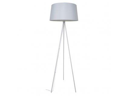 Solight stojací lampa Milano Tripod, trojnožka, 145 cm, E27, bílá
