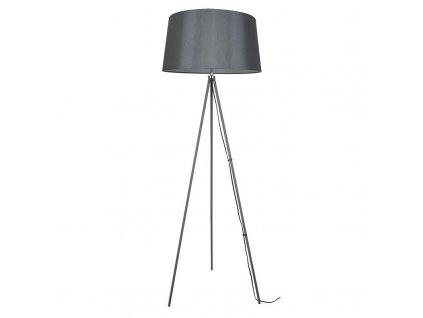 Solight stojací lampa Milano Tripod, trojnožka, 145 cm, E27, šedá