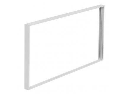 Solight hliníkový rám pro instalaci LED panelů o rozměru 595x1195mm na stropy a zdi