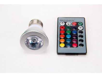 LED žárovka RGB16-2 E27 60° - LED žárovka RGB16-2 E27 60°