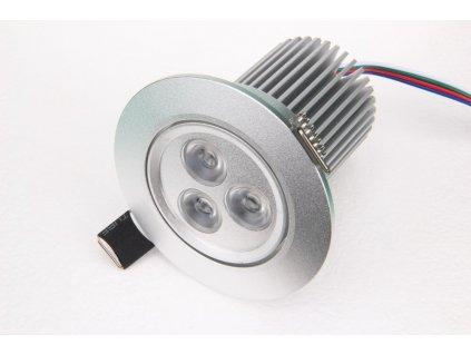 RGB podhledové svítidlo 12W 12VDC - RGB