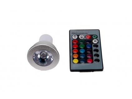 LED žárovka RGB16-2 GU10 - 60° - RGB