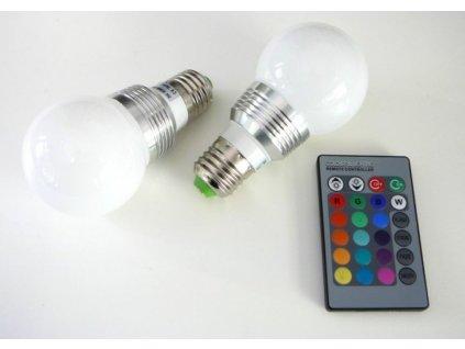 LED žárovka RGB16-2 E27 - 360° - LED žárovka RGB16-2 E27 - 360°