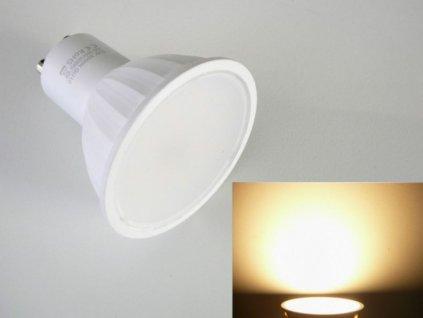 LED žárovka GU10 5W LU5W LUMENMAX - Teplá bílá