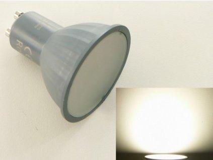 LED žárovka GU10 EL3W - Denní bílá