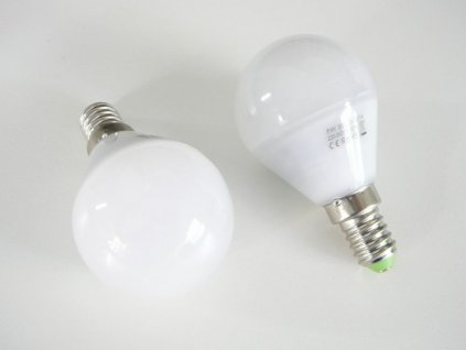 LED žárovka E14 LU5W 260° - Studená bílá
