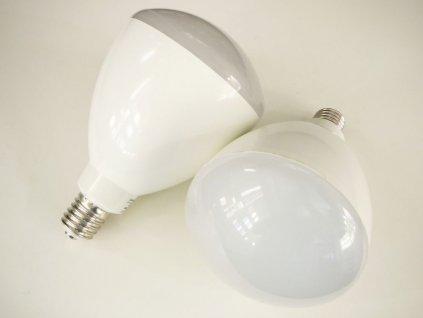 LED žárovka E40 R180-50W - Studená bílá