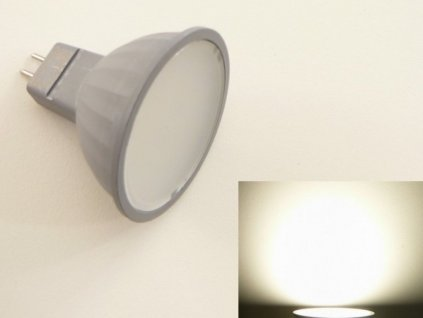 LED žárovka MR16 EL3W - Denní bílá