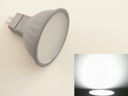 LED žárovka MR16 EL3W - Studená bílá