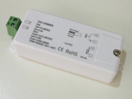 DALI převodník - LED stmívač PWM 1ch 8A - DALI stmívač 1x8A 12-36V