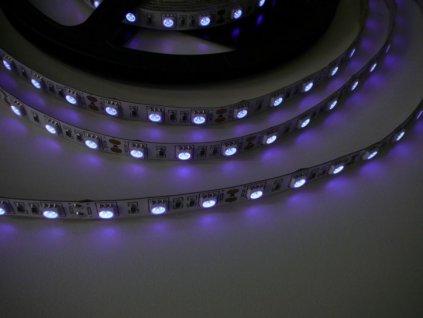 UV LED pásek 14,4W original UV čip - UV